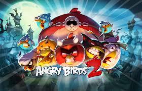 a very angry halloween angry birds