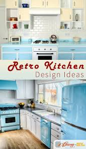 Vintage Kitchen Ideas by 54 Best Retro Kitchen Design Ideas Images On Pinterest Retro