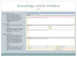 Landesk Service Desk Training Knowledge Management Knowledge Articles Webdesk Training Ppt