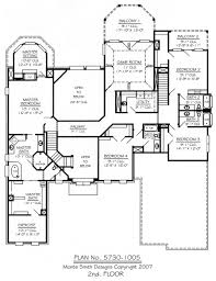 5 Bedroom Floor Plans 1 Story by 4 Bedroom House Plans With Library Arts