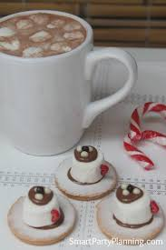 Christmas Party Food Kids - the best chocolate tea cup biscuits for kids