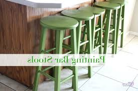 wondrous painted bar stool picture how to paint stools kitchen