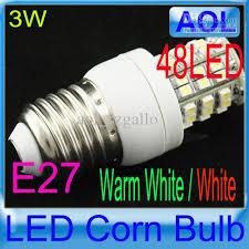 best mini e27 220 240v led spot light bulbs warm white white 3w