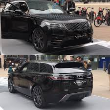 land rover velar svr the range rover velar on display at canary wharf in london