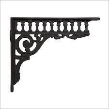 furniture wonderful wood shelves with iron brackets decorative