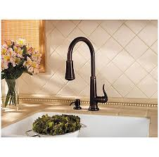 Price Pfister Ashfield Kitchen Faucet by Rustic Bronze Ashfield 1 Handle Pull Kitchen Faucet Gt529