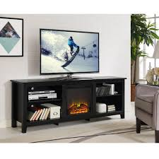 70 tv stand with fireplace tlsplant com
