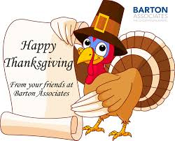 barton associates happy thanksgiving