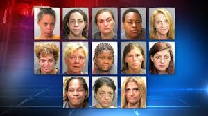 13 arrested in citywide prostitution sting