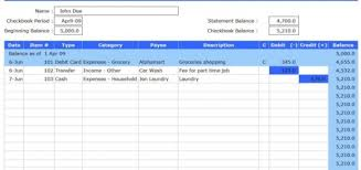 Check Register Template Excel Finance And Accounting Templates Archives Free Excel Templates