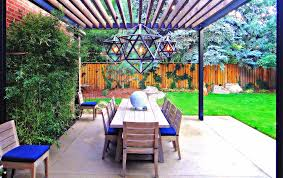 Outdoor Living Areas Images by Sleek Modern Outdoor Living Space In Park Hill Mile High Landscaping