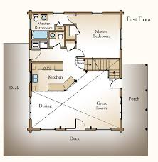 single story cabin floor plans sophisticated one story with loft house plans pictures ideas house