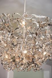 Upside Down Crystal Chandelier Brand Van Egmond Upside Down Icy Lady Sculptural Chandelier For