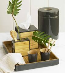 Spa Bathroom Decor by Add Some Bamboo To Your Bathroom Decor With Something Like This