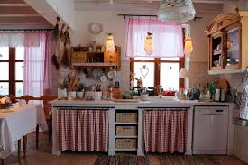 Country Kitchen Curtains Ideas Painting Kitchen Walls Red Red Kitchen Curtains Red And White