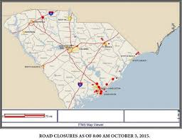 Columbia Sc Map Sc Emergency Operations Increased To Opcon 1 The State