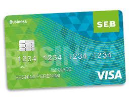 Visa Business Card Visa Business Debit Card Seb
