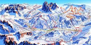 Dolomites Italy Map by Dolomiti Superski Biggest Ski Adventure In The Dolomites Italy