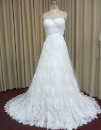 wedding dress trim criss cross ruched chiffon neckline wedding dress with