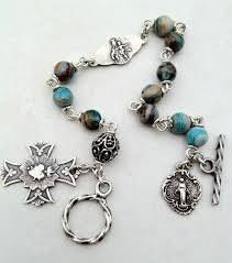 rosary bead bracelet all beautiful catholic past rosary bracelets gallery