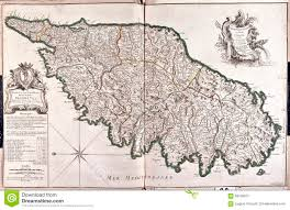 Corsica Map Old Map Of Corsica France Stock Illustration Image 56109913