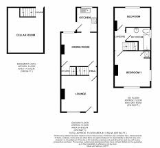 Terraced House Floor Plan by 2 Bedroom End Terraced House For Sale In 52 Cherry Tree Lane