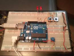 ladder logic running on an arduino uno contact and coil