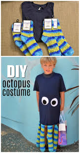 octopus halloween costume toddler easy last minute diy octopus costume a crafty spoonful