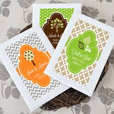 seed favors fall for personalized wildflower seed favors ecopartytime
