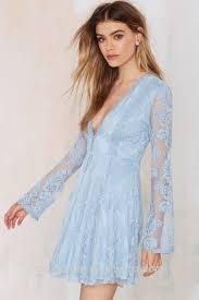 light blue long sleeve dress blue long sleeve lace dress