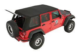 2016 black jeep wrangler unlimited bestop 54853 17 trektop pro hybrid soft top for jk unlimited 4