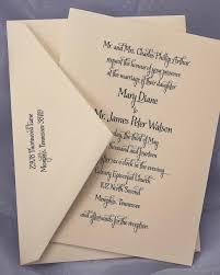 Engraved Wedding Invitations Engraved Wedding Invitation R 171 E