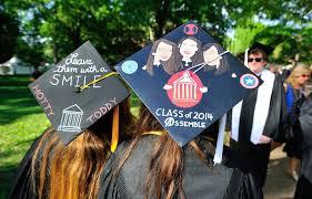 decorate graduation cap Graduation Decorations Ideas For A