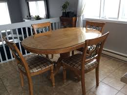 set de cuisine kijiji simple table en bois fait la mains with set