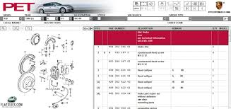 porsche 928 parts catalog a guide to the meaning porsche s part numbers flatsixes