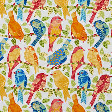 Upholstery Fabric With Birds How To Combine Colorful Bird Upholstery With Vintage Patterns Kovi