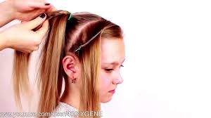 easy and simple hairstyles for school dailymotion tutorials for long hair braided frozen elsa s messy braid hair