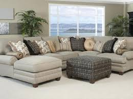 Navy Sectional Sofa Abbyson Living Charlotte Dark Brown Sectional Sofa And Ottoman 11987