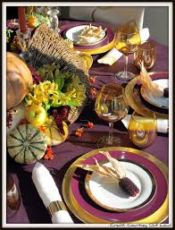 Thanksgiving Table Setting by Thanksgiving Table Setting Courtney Out Loud