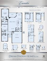 Texas Floor Plans by Camden Dream Finders Homes