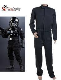 wars jumpsuit wars imperial tie fighter pilot black flightsuit jumpsuit costume