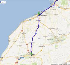Marrakech Map World by Madrid To Marrakech The Maps