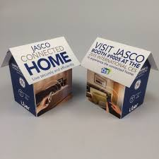 jasco uses pop up house drive traffic their trade show booth