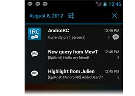 android irc androirc the best irc client for android your device need