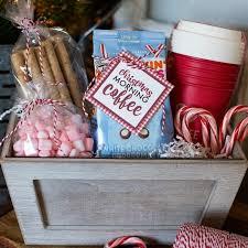 coffee gift basket ideas christmas morning coffee gift basket a owl