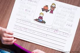 fall kids writing prompts for kindergarteners simple fun for kids