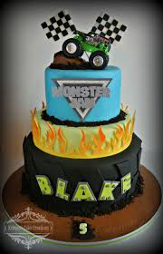 monster jam birthday cake reha cake