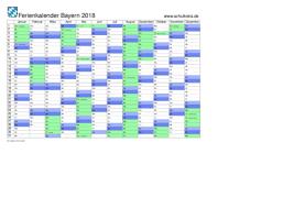 Ferienkalender 2018 Bw Schulkreis De Schulferien Kalender Bayern 2018 Feiertage Ferien