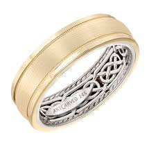 celtic mens wedding bands artcarved bridal style 11 wv21u7 men s wedding band with celtic