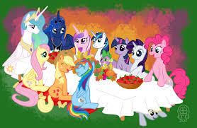 a pony thanksgiving by anscathmarcach on deviantart